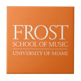 Frost School of Music Logo Small Square Tile
