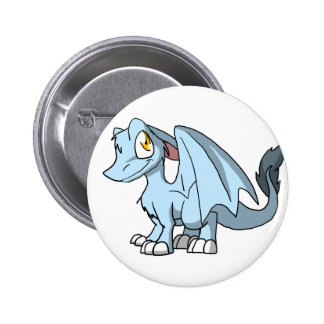 Frost SD Furry Dragon Pinback Button