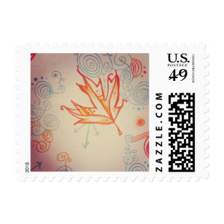 Frost Torn Postage