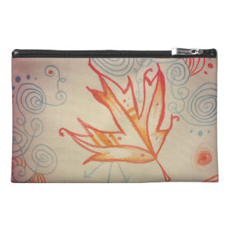 Frost Torn Two-Tone Travel Accessories Bag