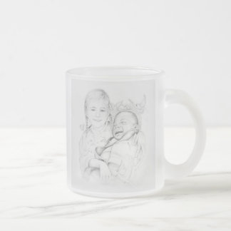 Frosted 296 ml  Frosted Glass Mug