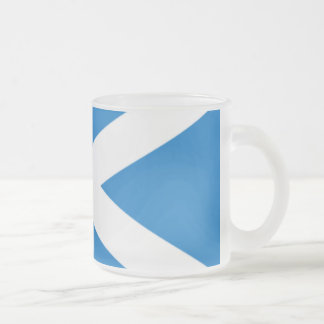 Frosted 296 ml Frosted Glass Mug saltire