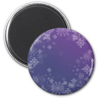 Frosted 2 Inch Round Magnet