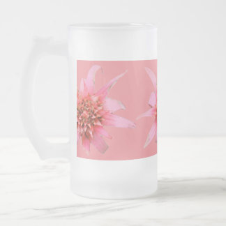 Frosted Beer Mug - Silver Chalice