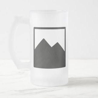 Frosted Beer Mug Template
