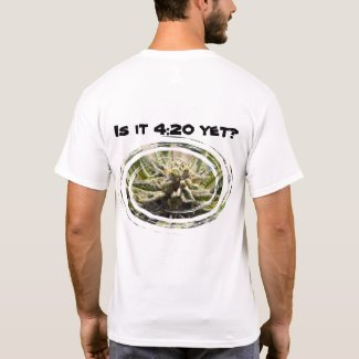 Frosted Marijuana Bud Men's T-Shirt - Legal Cannabis Day
