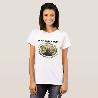 Frosted Marijuana Bud Women's T-Shirt - Legal Cannabis Day