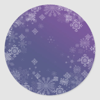 Frosted Classic Round Sticker