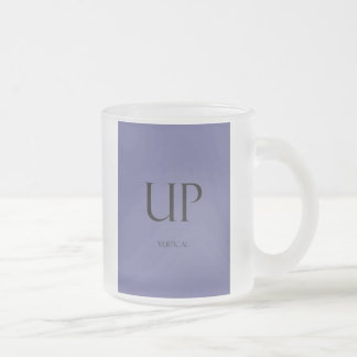 Frosted Coffee Vert Temp Frosted Glass Coffee Mug