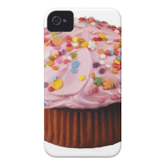 Frosted cupcake with sprinkles iPhone 4 cover