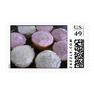 Frosted Cupcakes Postage Stamps