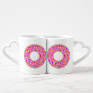 Frosted Donut Dunk Coffee Mug Set
