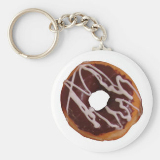 frosted Donut Keychain