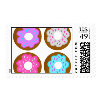 Frosted Donut Stamps