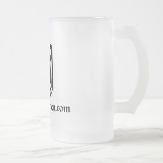Frosted Eagle Beer Stein Coffee Mug