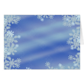 Frosted Edges Card