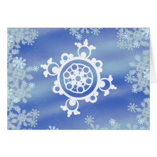 Frosted Edges I Card