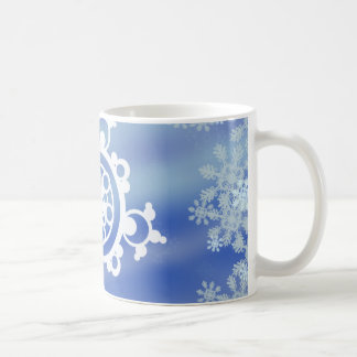 Frosted Edges I Classic White Coffee Mug