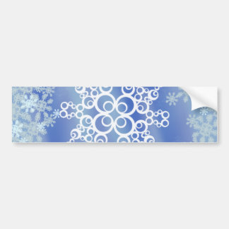 Frosted Edges II Car Bumper Sticker