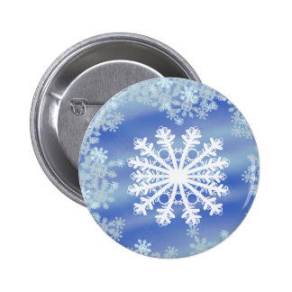Frosted Edges III Pinback Button