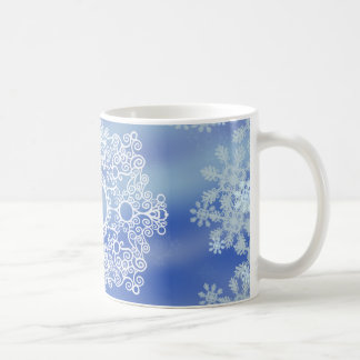 Frosted Edges IV Classic White Coffee Mug