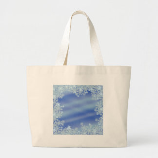 Frosted Edges Large Tote Bag