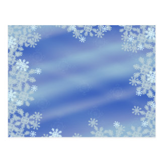 Frosted Edges Postcard