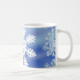 Frosted Edges VII Classic White Coffee Mug
