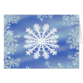 Frosted Edges VIII Card