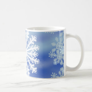Frosted Edges VIII Classic White Coffee Mug