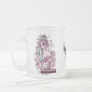 Frosted Glass Mug Bitch'n Bird from FW Designs