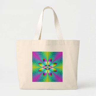 Frosted Glass Psychedelia II Tote Bags