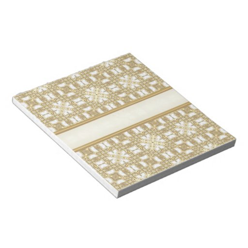 Frosted Gold Boxes Memo Note Pad
