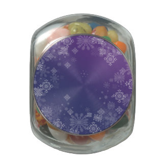 Frosted Jelly Belly Candy Jar