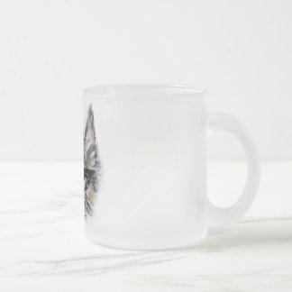 Frosted Kitten Mug