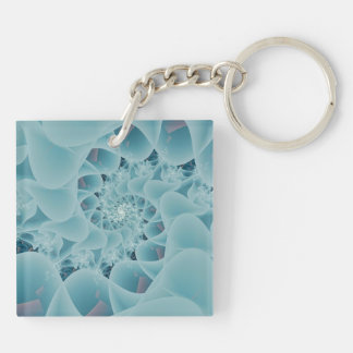 Frosted Lace Keychain
