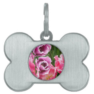 Frosted Ladies Pet ID Tag