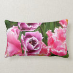 Frosted Ladies Throw Pillows