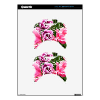 Frosted Ladies Xbox 360 Controller Decal