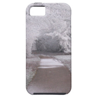 Frosted landscape iPhone SE/5/5s case