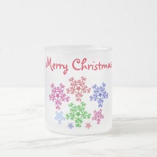 "Frosted Mug ""Merry Christmas"""