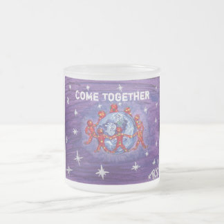Frosted Mug -ONE LOVE