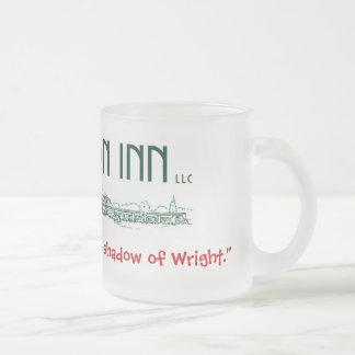 Frosted mug Usonian Inn logo