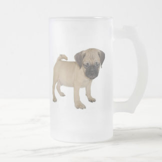 Frosted Mug with Baby Puggle