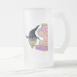 Frosted Mugs - Add name, Halloween Witch