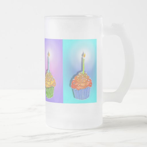 Frosted, Mugs - Birthday Cupcakes