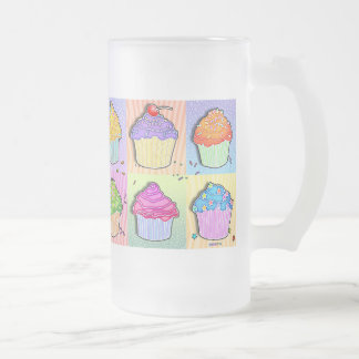 Frosted, Mugs - Pop Art Cupcakes