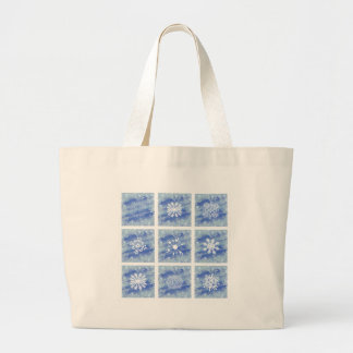 Frosted Panes I Large Tote Bag