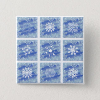 Frosted Panes I Pinback Button
