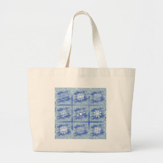 Frosted Panes II Large Tote Bag